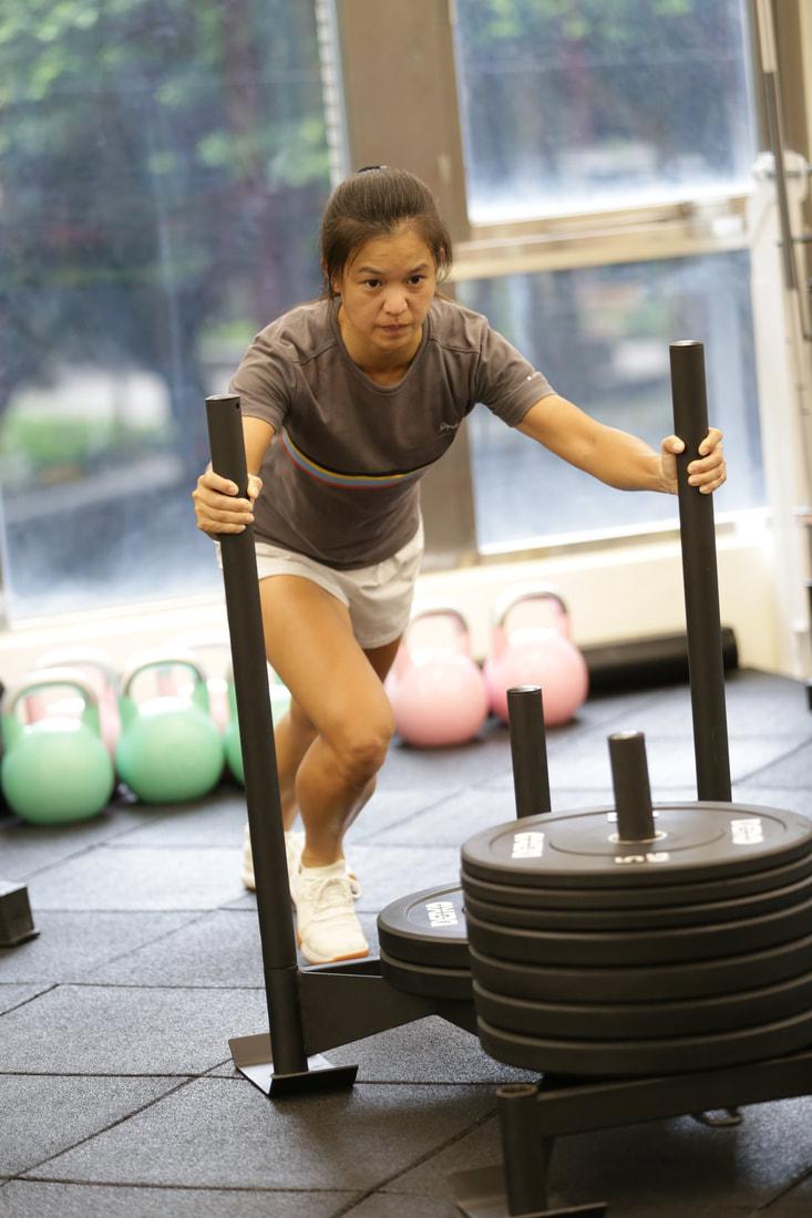 跑步重訓肌力恢復課程-士官長照片